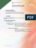 Specimen Dilution Guide - EnG