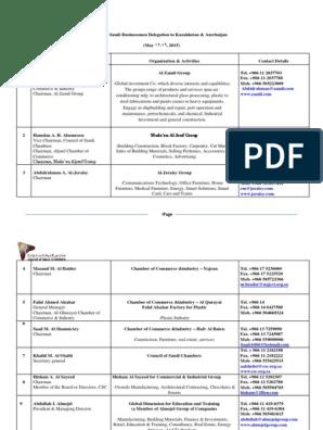 List Of Saudi Companies May 11 Abdullah Of Saudi Arabia Business