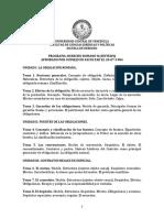 Programa Romano II UCV