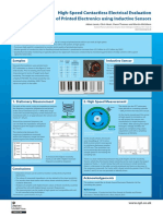 High-Speed Contactless Electrical Evaluation of Printed Electronics using Inductive Sensors