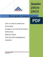 Mon Guide Campusfrance 2 2015-2016