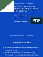 Busqueda Informacion SIG