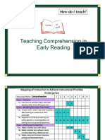 Guidelines - Teaching Comprehension in Early Reading