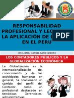 3. RESPONSABILIDAD PROFESIONAL Y LEGAL POR LA APLICACIÓN DE LAS NIIF EN EL PERU.pptx