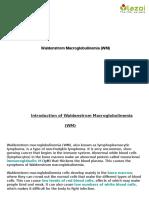 Waldenstrom Macroglobulinemia (WM)