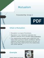 Mutualism Science Bab 4 Form 2