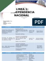 Cronograma Linea 1