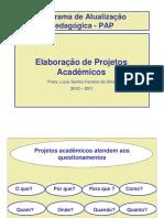 Elaboração de Projetos Acadêmicos