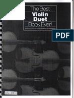dúos para violín