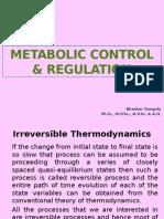 Metabolic control & regulation