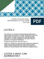 leiter-3 presentation