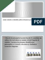 Analiza Veniturilor Si Cheltuielilor Publice În Romania În