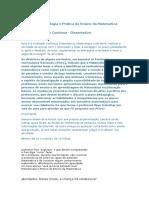 Atividade 1 Metodologia e Prática do Ensino da Matemática.docx