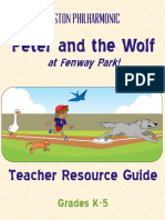 Peter and Wolf Resource Guide - Boston Philharmonic Orchestra