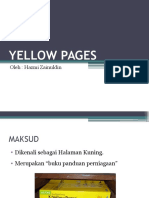 Literasi Maklumat (Yellow Pages)
