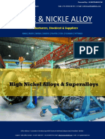 Nickle & Nickle alloy Stockist & Suppliers / INCONEL ALLOY