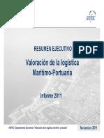 Resumen Informe Maritimo 2011
