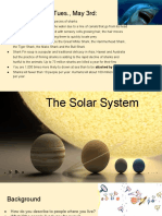 the solar system ppt