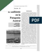 Capitulo 2 - El Ambiente en La Patagonia Austral