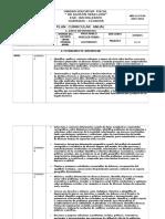 Plan Anual Ciencias Sociales 8vo