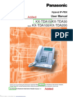 KX-TDA15