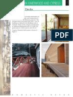 Australian Hardwood Domestic Deck Span Tables