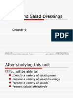 Ch09 - Salads and Salad Dressings