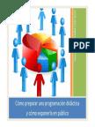 Como Preparar Una Programacion Didactica y Como Exponerla en Publico