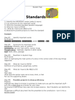 unpacking standards worksheet