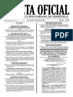 Gaceta Oficial N° 40.894 - Notilogía