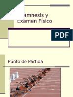 Anamnesis y Examen Físico 2015