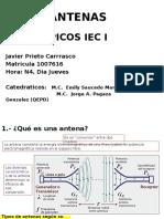 Presentacion Antenas Diapositivas