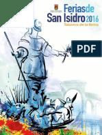 Programa Ferias de San Isidro 2016