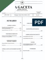 Texto de Ley Nº49, Ley de Amparo Con Reformas Incorporadas