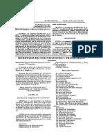RISCT_290383 Reglamento Interior Sct 1983
