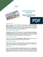 Visa o MasterCard Platinium Tcm259-406776