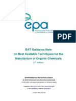 BAT Guidance Note Organic Chemicals