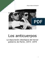 Los Anticuerpos. La depuración ideológica del tercer gobierno de Perón..pdf