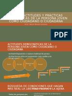 Tema 2. Actitudes y Prácticas Democraticas