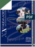 Yearbook 2016 - Ετήσιος Διεθνής Απολογισμός - Νέα Ακρόπολη