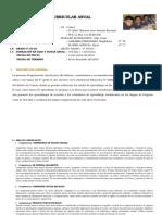 Planificacion Curricular Anual 2016 Sexto Grado