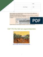 F10-1 Do Sol Ao Aquecimento (Banco de Questões Com Itens de Exames)