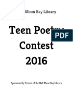 2016 Teen Poetry Contest Anthology