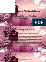 Introduccion a Fisiopatologia