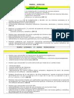 Organización de Unidades 8º Basico MATEMÁTICA