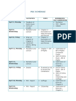 Pgc Schedule 4bio-3