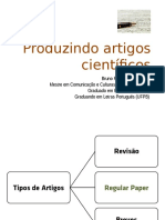 Produzindo artigos