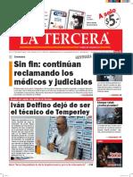 Diario La Tercera 04.05.2016