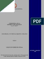 CODIGO PENAL DE LA REPUBLICA DEL PARAGUAY - LEY N 1160 97 - TOMO I - PORTALGUARANI