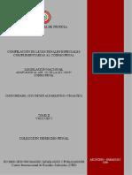 COMPILACION DE LEYES PENALES ESPECIALES - TOMO II - VOLUMEN I - PORTALGUARANI